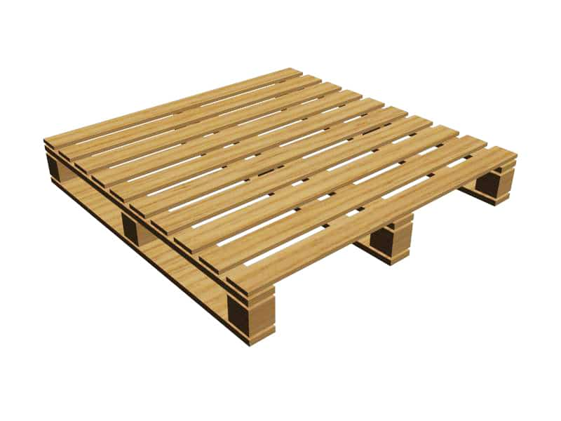 4-Way Block Pallet