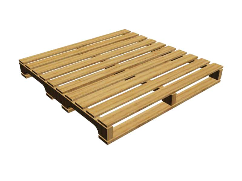 4-Way Notched Pallet