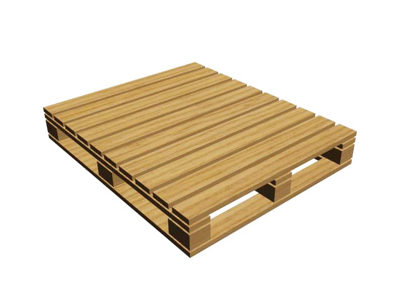Euro Block 4 Way Entry Pallet