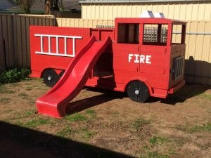 fire engine cubby