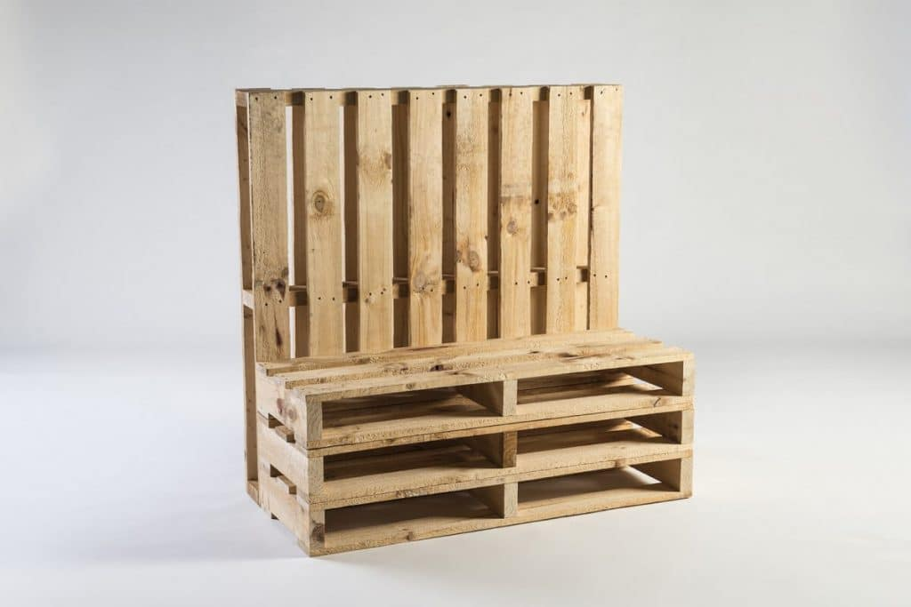 Lounge pallets wooden