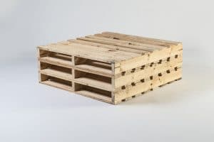 wooden Square Seat